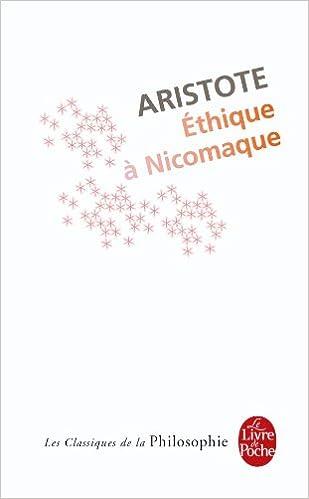 Aristote - Éthique à Nicomaque