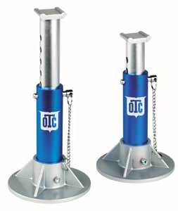 OTC 1582 2-Ton Aluminum Jack Stand - Pair Aluminum Race Jack