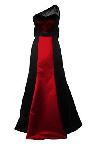 Exquisite misura inclinata Sunvary sera spalla Gowns Plus Pageant Abito sera Maxi Red da FwdwUqZ