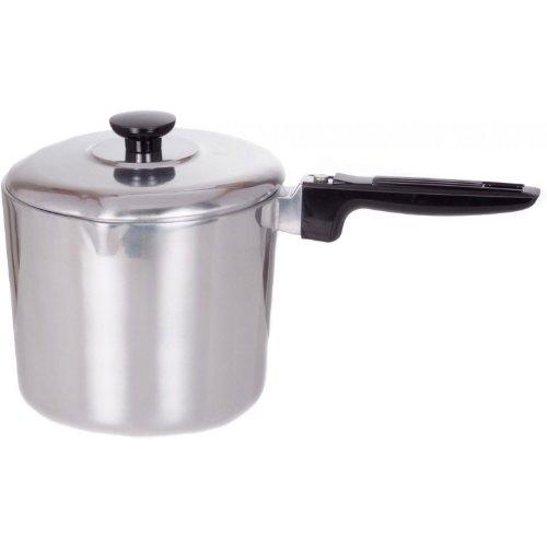 Cajun Cookware Pots 4 Quart Aluminum Sauce Pot ()