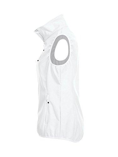 2XL Microfleece CqC 3000mm Lined Ladies Colours Pockets White Softshell Zipped XS 8 Waterproof Gilet f7BfpZwq