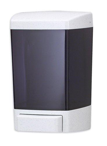 San Jamar S46TBK Classic Wall-Mount Liquid Soap Dispenser, 46 oz Capacity, Black Pearl by San Jamar