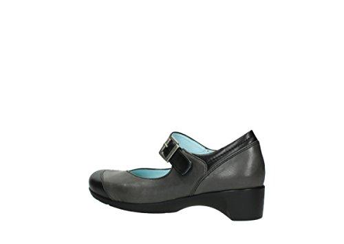 Babette Opale Ladies 90000 Wolky Black Leather aARqw