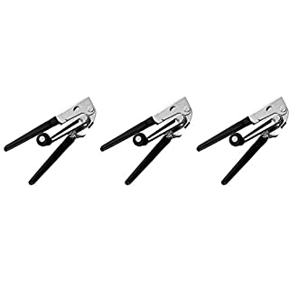 """Swing-A-Way Commercial Easy Crank Can Opener, 9"""" L x 2"""" W, Silver 3 Pack"""