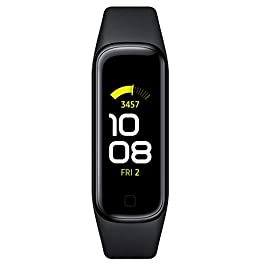 Samsung Galaxy Fit 2 Bluetooth Fitness Tracking Smart Band – Black (US Version)