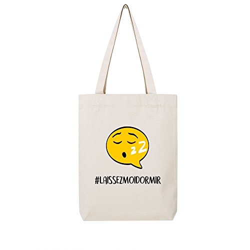 hashtag dormir Tote laissez moi natural en bag recycle toile z4nnWqXRw8