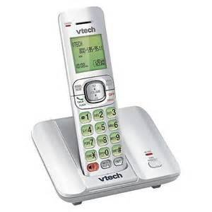 Vtech DECT 6.0 Cordless Phone System (CS6519-17) with 1 Handset - White