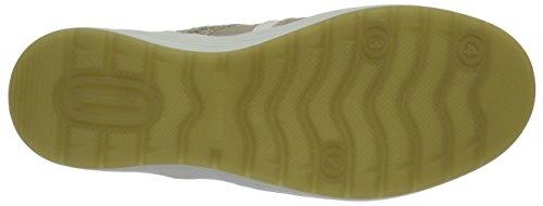Beige Mujer 3 Zapatillas Creme 208111 Weiss Ganter IHnqOzw8x