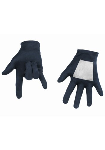 Black Spiderman Costumes For Adults (Black-Suited Spiderman Child Gloves (Standard))