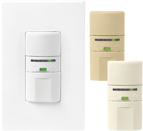 Eaton OS106D1-C1-K Single-Pole with LED Occupancy Sensor Dimmers with Color Change Kit, Almond, White, Ivory