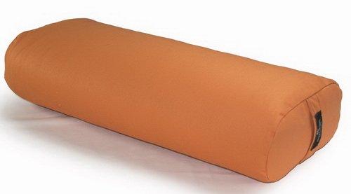 Hugger Mugger Standard Yoga Bolster, Pumpkin