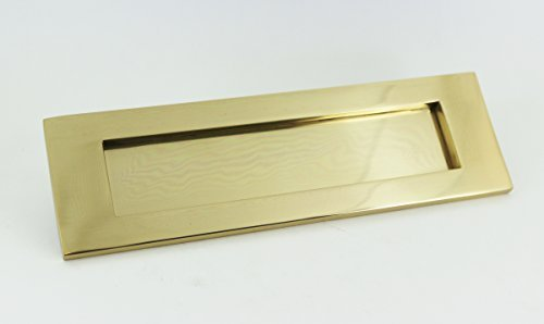 Letter Plate (Polished Brass, 254mm x 100mm) by Jedo ()