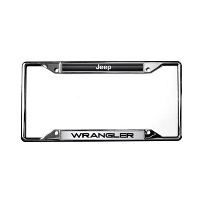 Jeep Eurosport Daytona- Compatible Wrangler License Plate Frame: Automotive