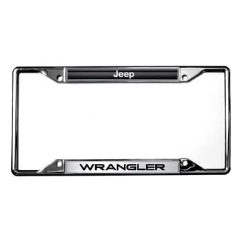 Amazon.com: Jeep / Wrangler License Plate Frame: Automotive