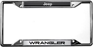 Marvelous Jeep / Wrangler License Plate Frame