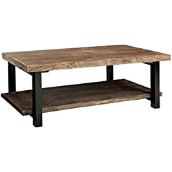 Alaterre AZMBA1120 Sonoma Rustic Natural Coffee Table, Brown