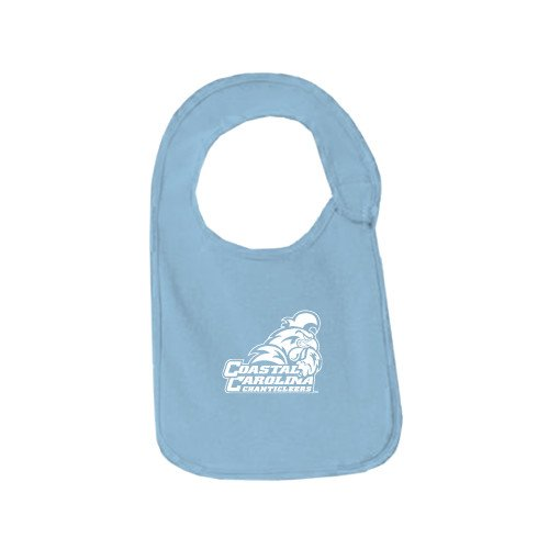 Coastal Carolina Light Blue Baby Bib 'Official Logo' by CollegeFanGear