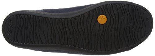 Softinos Sneaker Navy Izi399sof Donna Blu r6HTr7n5q