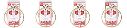 Morgan 7-Inch and 10-Inch Lap Stand Combo Hoops (4-(Pack)) by Morgan