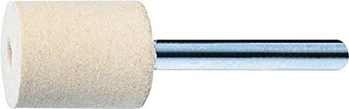 Medium Grade - 3//8 x 9//16 1//8 Shank 10pk PFERD 48522 Felt Point Cylindr