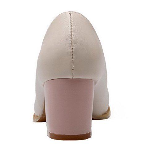 de Cerrada AalarDom PU Cordones Surtidos Mujeres Tac Zapatos Sin Colores Puntera qUCwUzf0x