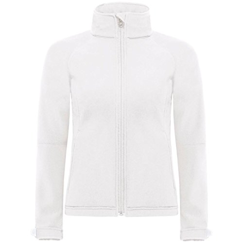 C Softshell À Collection femmes Blanc B amp; Capuche AwPxCt75q