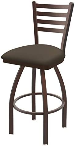 Holland Bar Stool Co. 41036BZ006 410 Jackie Swivel Bar Stool, 36 Seat Height, Canter Earth