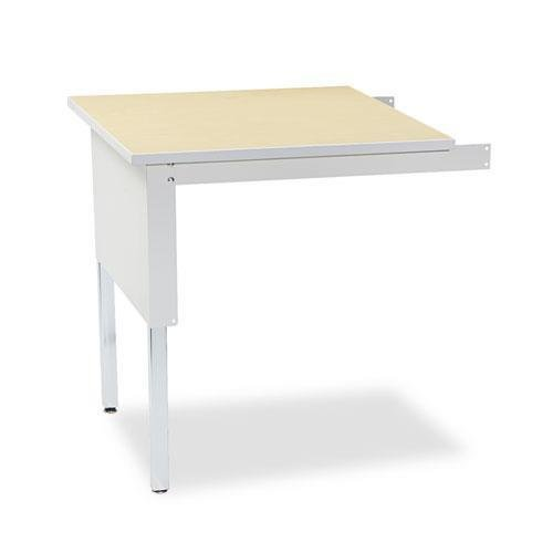 Mailflow Systems - Office Realm Mayline TB30PG Mailflow-to-Go Mailroom System Table, 30w x 30d x 29-36h, Pebble Gray