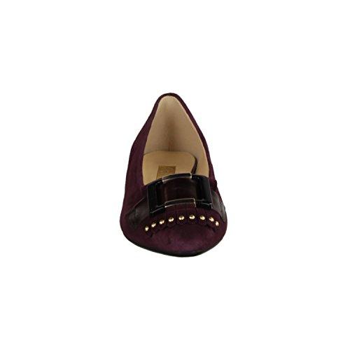 Gabor 55131-15- Damenschuhe Modische Pumps / Ballerina, Rot, leder (samtchevreau/boxcalf), absatzhöhe: 30 mm