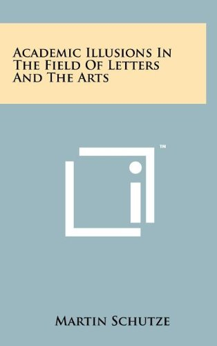 Download Academic Illusions in the Field of Letters and the Arts ebook