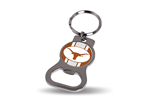 Rico Texas Longhorns Official NCAA 3 inch Bottle Opener Key Chain Keychain by 622336