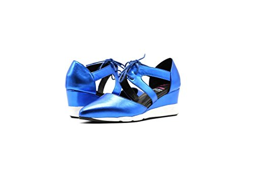 Scatola Da Scarpe Calci Sandali Sneaker Moda Atletica Blu