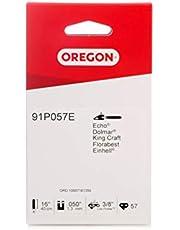 Oregon Standaard 91P zaagketting geschikt voor 40 cm AL-KO, Alpina, Atika, Bosch, CMI, Einhell, Grizzly, Hurricane, Mr. Gardener, Scheppach, Stanley, Stiga, Worx motorzagen, 57 aandrijfschakels
