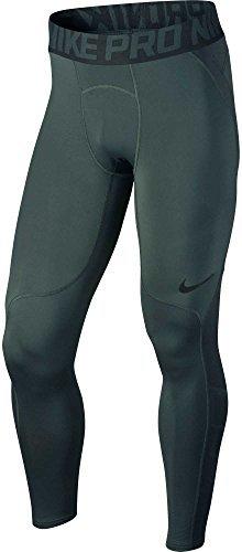 Nike Men's Pro HyperWarm Tights (Vintage Green/Volt, S)