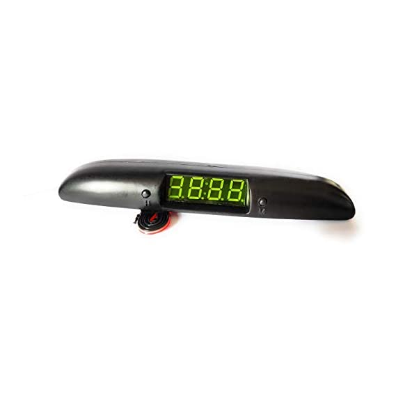 Dolphin car accessories Santro Digital Car Clock/Watch