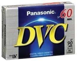 Un Paquete de 3 X Panasonic Dvm-60 Mini Dv Vídeo Digital Cintas Videocámaras //