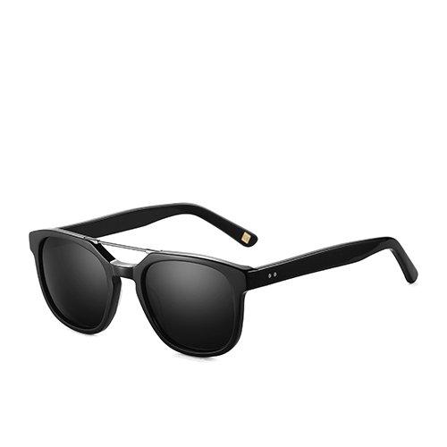 de pesca guía polarizadas C01 hombres Gafas Sunglasses marrón C03 de gafas en acetato TL de para humo Smoke Black sol Unisex gafas viajes Z6wtxRROq