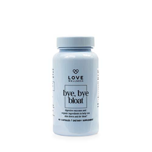 Love Wellness Bye, Bye, Bloat - Digestive Enzymes for Gut Health