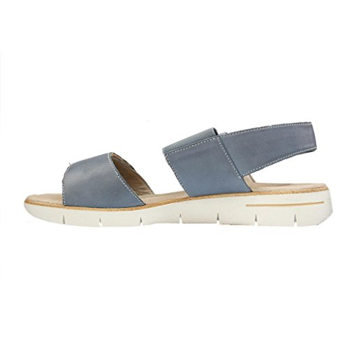 Remonte - Sandalias de vestir para mujer Azul