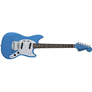 Fender Made in Japan Traditional '70s Mustang California Blue Rosewood