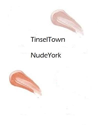 Paparrazi Set City Lips 2 Pack (Advanced TINSEL Town & NUDE York) Lip Plumper