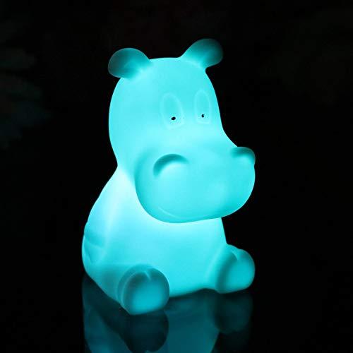 PK Green L/ámpara Mesilla Noche Luz Sensorial Infantil Pilas