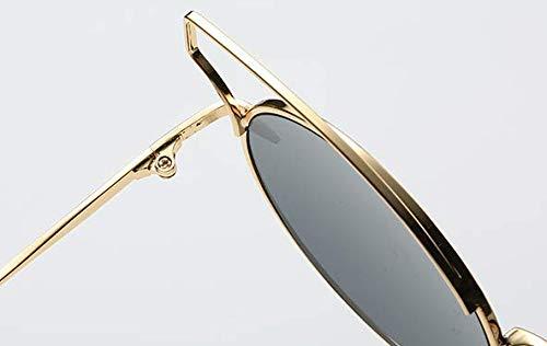 En Black Gold Soleil Frame Et Chennnnnn Sheet Métal Grey De Lunettes nYwBx775q8