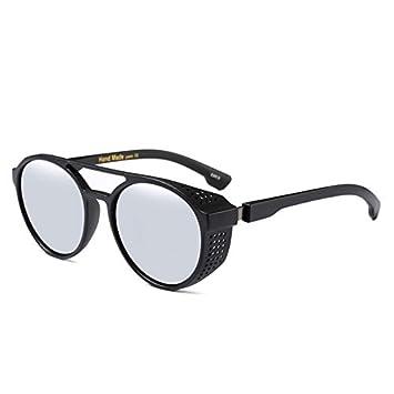 TYJYY Sunglasses Hombres Vintage Steampunk Gafas De ...