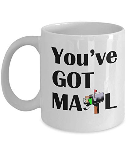 You've got mail 11oz Coffee Mug - Mailman/Postal Worker/Mail Carrier Inspirational Occupations/Professions Ceramic Coffee Cup Gift for Men and Women