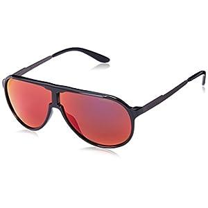 Carrera New Champion Aviator Sunglasses, Black Dark Ruthenium & Black Brown, 62 mm