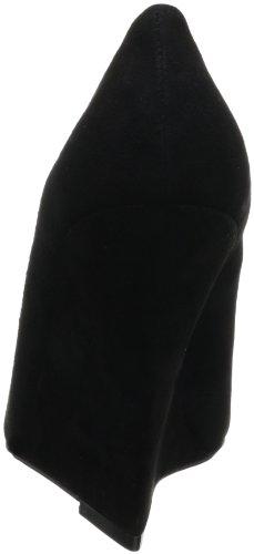 Juke Box Wig Pomp Zwart, Dames Womens