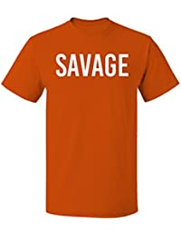 """Savage"" Graphic Design T-Shirt"