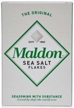 Maldon Crystal Salt Co B24720 Maldon Crystal Salt Co Original Sea Salt Flakes -12x8.5 Oz