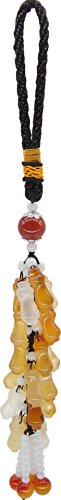 Car Rear View Mirror Pendant Feng Shui Bottle Charm Hanging Decorations (55th Wedding Anniversary Symbol)